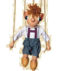 Marionette Hurvinek klein