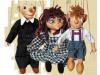 3er Set Marionetten (klein)