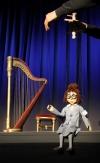 Marionette Frau Katarina groß