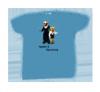 T-Shirt blau (nur für Kinder)